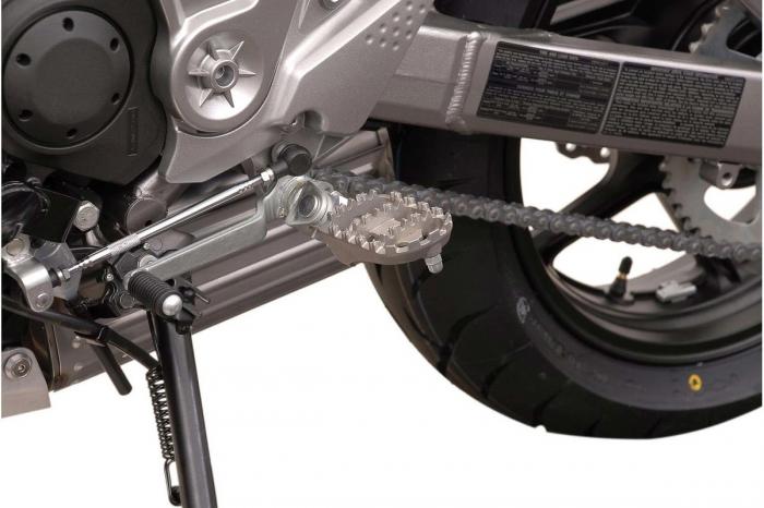 Kit scarite ION pentru Kawasaki Versys 650 / ZRX1200 / Z1000.Argintiu 3