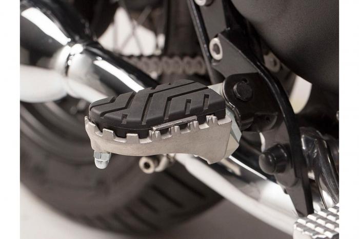 Kit scarite ION pentru Triumph Bonneville/T100 (04-), Scrambler (05-).Argintiu 0