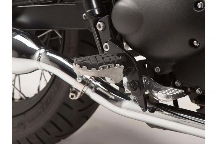 Kit scarite ION pentru Triumph Bonneville/T100 (04-), Scrambler (05-).Argintiu 1