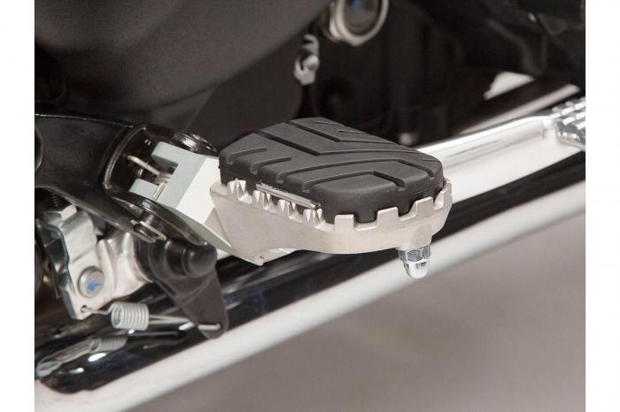 Kit scarite ION pentru Triumph Bonneville/T100 (04-), Scrambler (05-).Argintiu 3