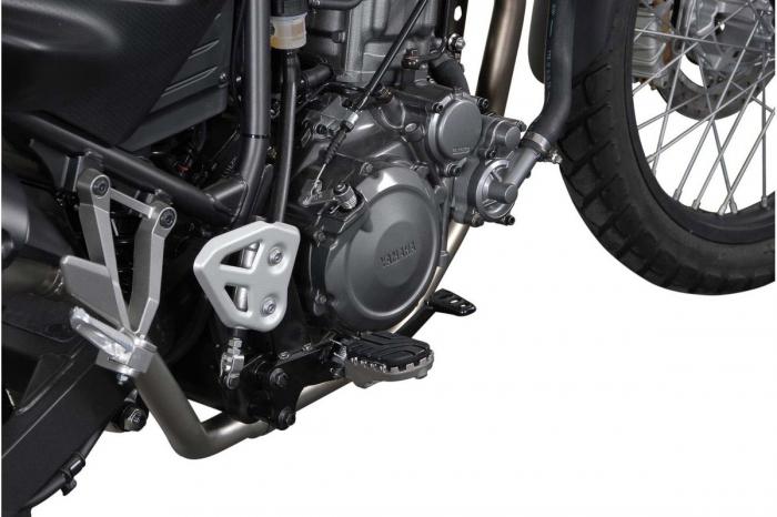 Kit scarite ION pentru Yamaha XT660 Z (07-10) X (04-) R (04-09).Argintiu 0