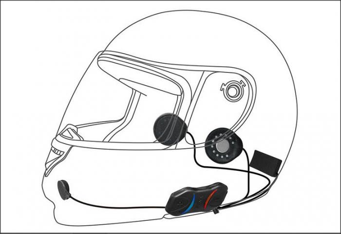 Kit sena moto sport smh10r 4