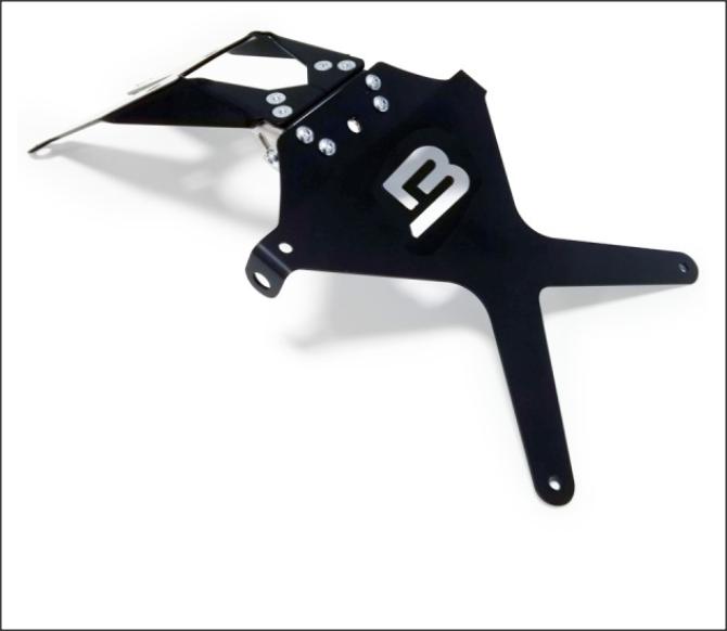 Kit suport numar de inmatriculare DH8104 1