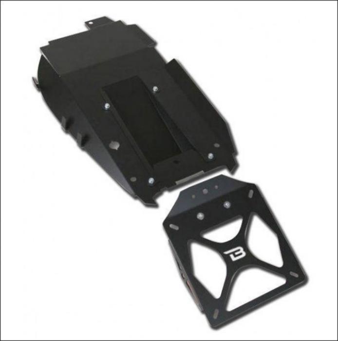 Kit suport numar de inmatriculare HN6104/03-BN 1