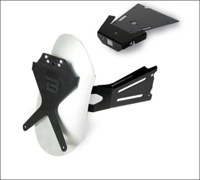 "Kit suport numar de inmatriculare lateral ""CLASSIC"" 1"