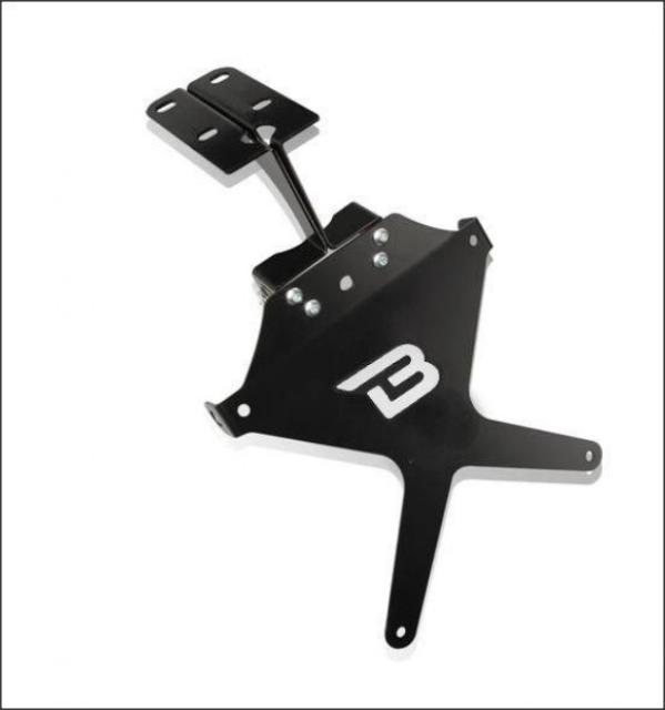 Kit suport numar de inmatriculare YP1104/07-BN 0