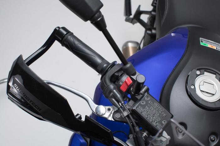Kit Protectii maini Kobra Negru Yamaha MT-07 Tracer (16-). 3