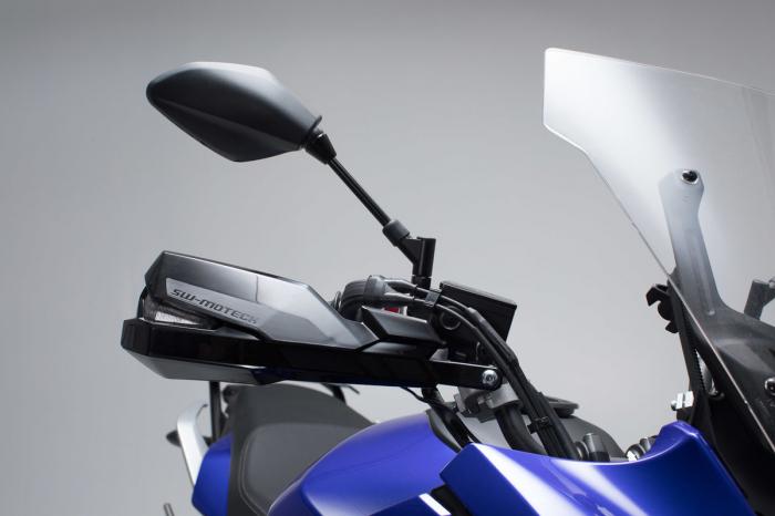 Kit Protectii maini Kobra Negru Yamaha MT-07 Tracer (16-). 1