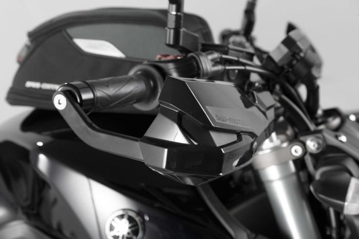 Kit Protectii maini Kobra Negru Yamaha MT-09 (13-) / XSR 700 (16-). [2]