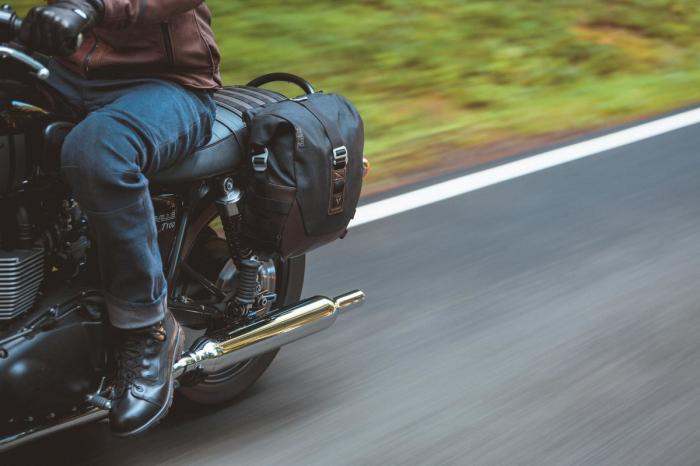 Legend Gear Saddle Bag Set LS2 13.5l incl. SLS. 4
