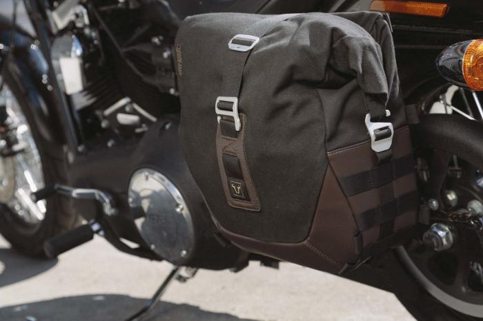 Legend Gear set geanta laterala - Negru Edition Harley Davidson Dyna Low Rider, Street Bob. 1