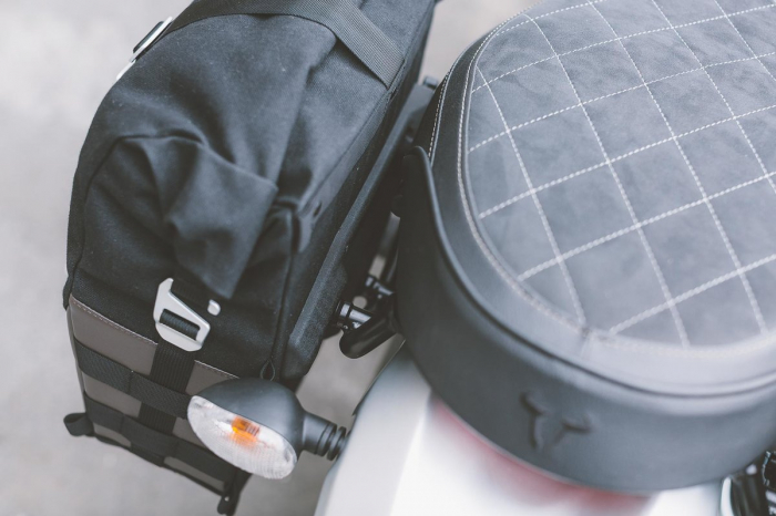 Legend Gear side bag LC1 - Negru Edition 9.8 l. pentru stanga SLC side carrier. 2