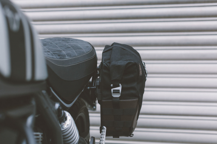 Legend Gear side bag LC1 - Negru Edition 9.8 l. pentru stanga SLC side carrier. 3