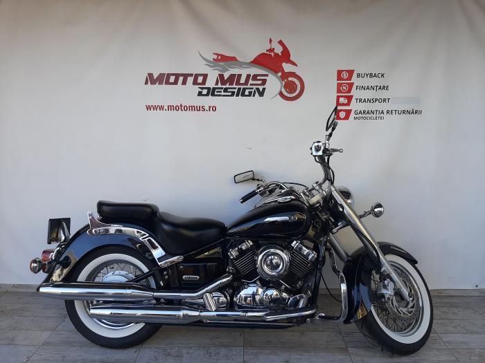 Motocicleta A2 Yamaha XVS 650 Dragstar 650cc 39.5CP - Y07458 [0]