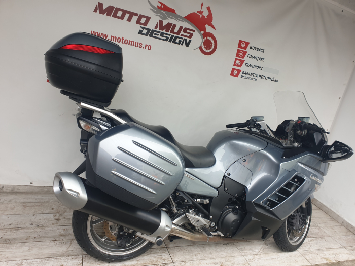 Motocicleta Kawasaki 1400 GTR 1400cc 155CP - K11193 1