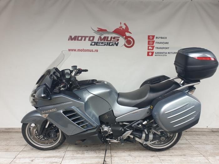 Motocicleta Kawasaki 1400 GTR 1400cc 155CP - K11193 6