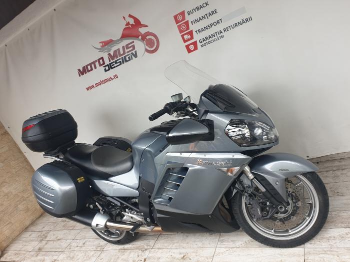 Motocicleta Kawasaki 1400 GTR 1400cc 155CP - K11193 4