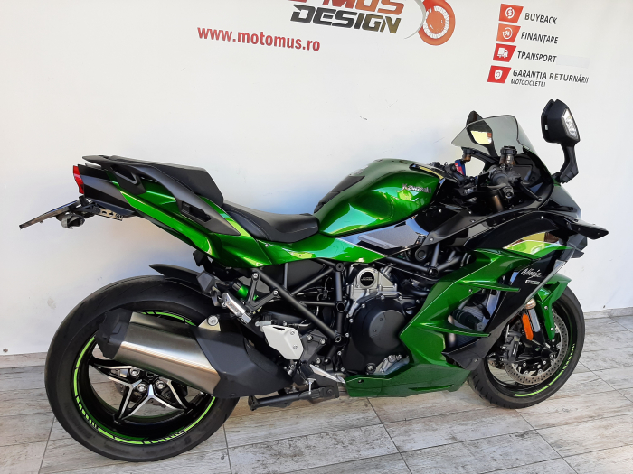 Motocicleta Kawasaki Ninja H2 SX SE 1000cc 200CP - K02736 [1]
