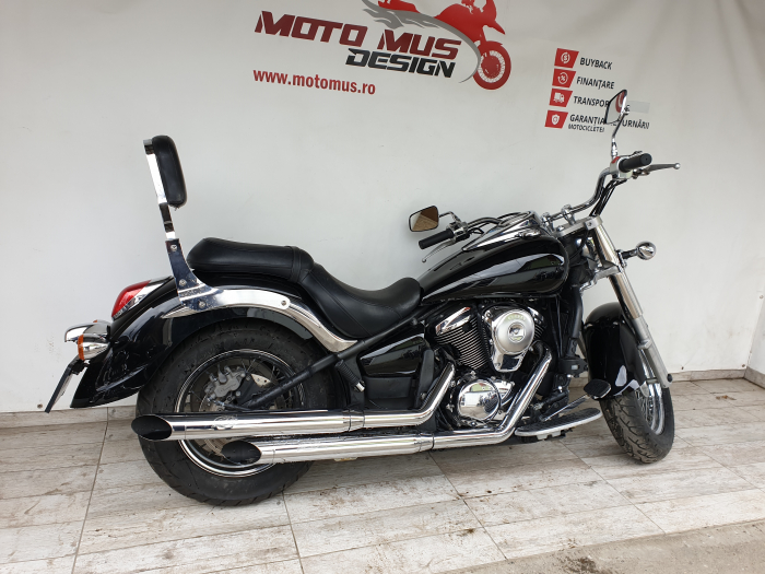 Motocicleta Kawasaki VN900 Vulcan Classic 900cc 49CP - K34189 [1]