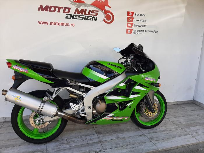 Motocicleta Kawasaki ZX-6R Ninja 600cc 109CP - K42901 [1]