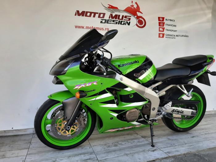 Motocicleta Kawasaki ZX-6R Ninja 600cc 109CP - K42901 [7]