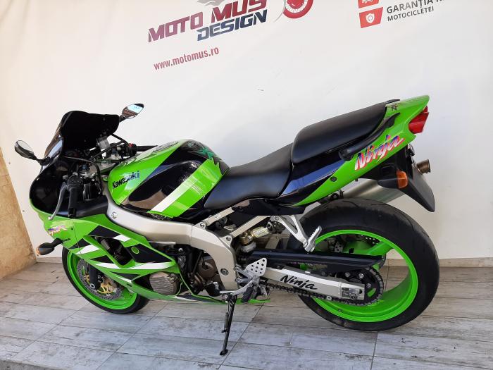 Motocicleta Kawasaki ZX-6R Ninja 600cc 109CP - K42901 [10]