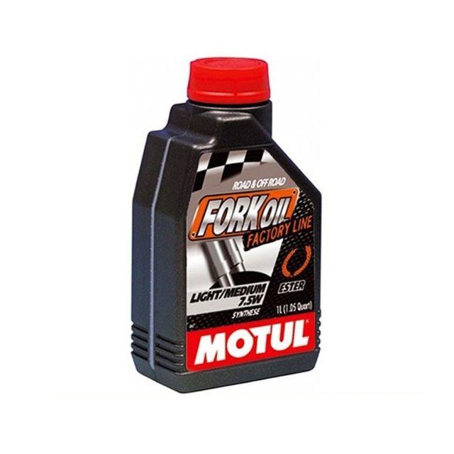 MOTUL Fork Oil Factory Line Light/Medium 7.5W 1 litru 0