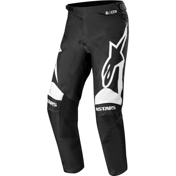 Pantaloni Cross-Enduro Alpinestars Racer Supermatic Negru/Alb 30 [0]