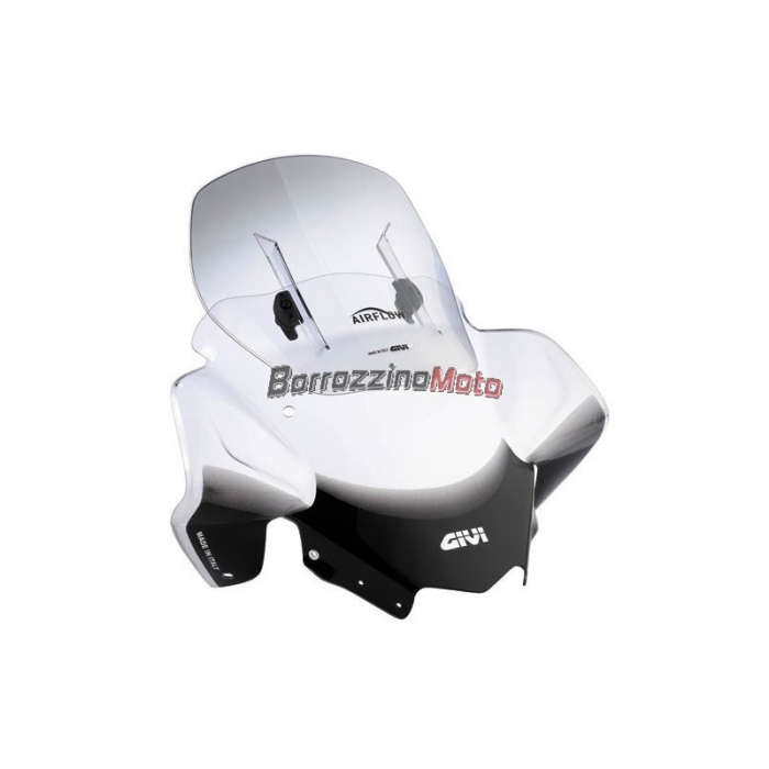Parbriz Givi Transparent cu Deflector Vant Airflow Kawasaki Versys 650 (12 > 20) [0]