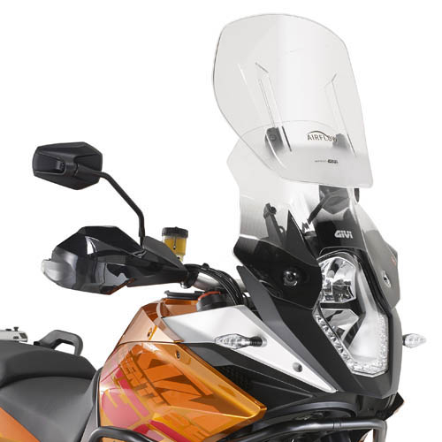 Parbriz Givi Transparent cu Deflector Vant Airflow KTM 1150  1190 Adventure R 0
