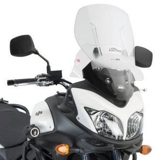 Parbriz Givi Transparent cu Deflector Vant Airflow Suzuki DL 650 V-Strom (11 > 16) 0