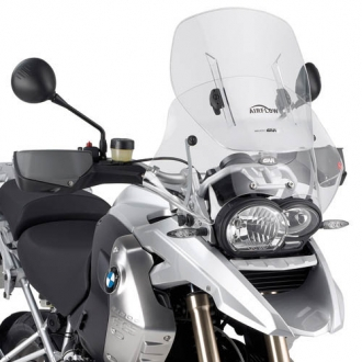 Parbriz Givi Transparent cu Deflector Vant Airflow BMW R 1200 GS (04 > 12) 0