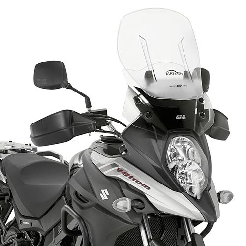 Parbriz Givi Transparent cu Deflector Vant Airflow Suzuki DL 650 V-Strom (17 > 20) 0