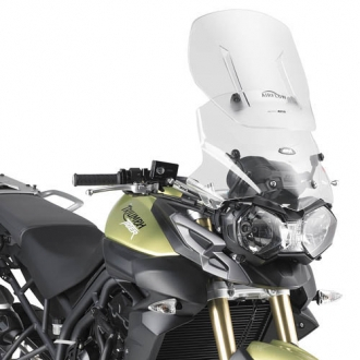 Parbriz Givi Transparent cu Deflector Vant Airflow Triumph Tiger 800/800XC 0