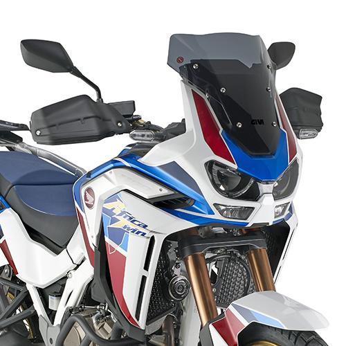 Parbriz mic si sportiv fumuriu Honda CRF1100L Africa Twin Adventure Sports (20) [0]