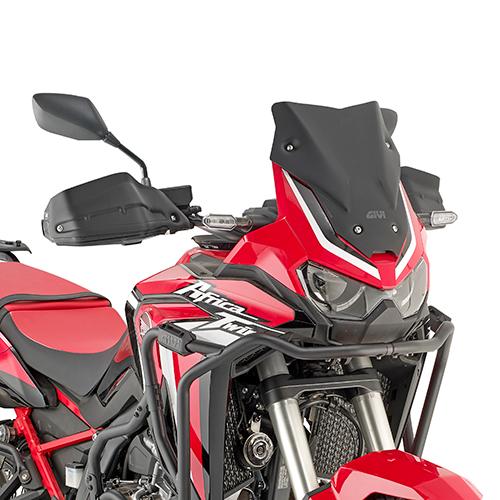 Parbriz mic si sportiv negru mat Honda CRF1100L Africa Twin (20) [0]