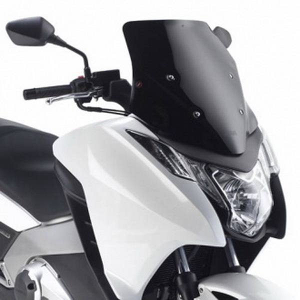 Parbriz mic sportiv negru lucios Honda Integra 700 '12 0