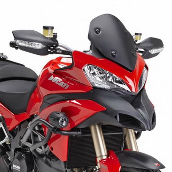 Parbriz negru mat mic Ducati Multistrada 0