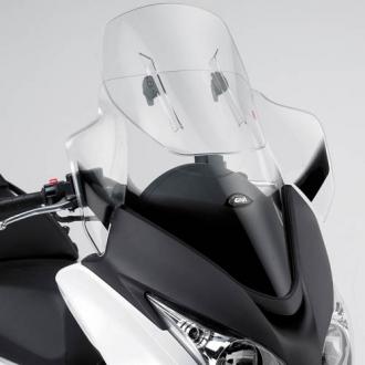Parbriz Givi Transparent cu Deflector Vant Airflow Honda SW-T 400 2009-2017 [0]