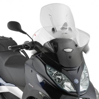 Parbriz Givi Transparent cu Deflector Vant Airflow Piaggio MP3 AF5601 0