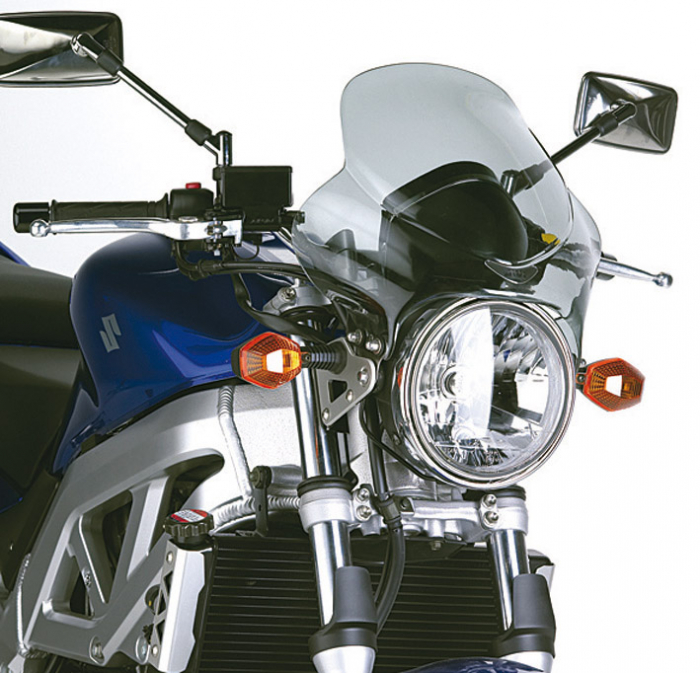 Parbriz universal fumuriu moto naked 240A 0