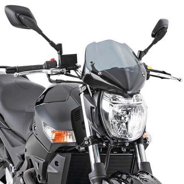 Parbriz universal moto naked Negru '11 0