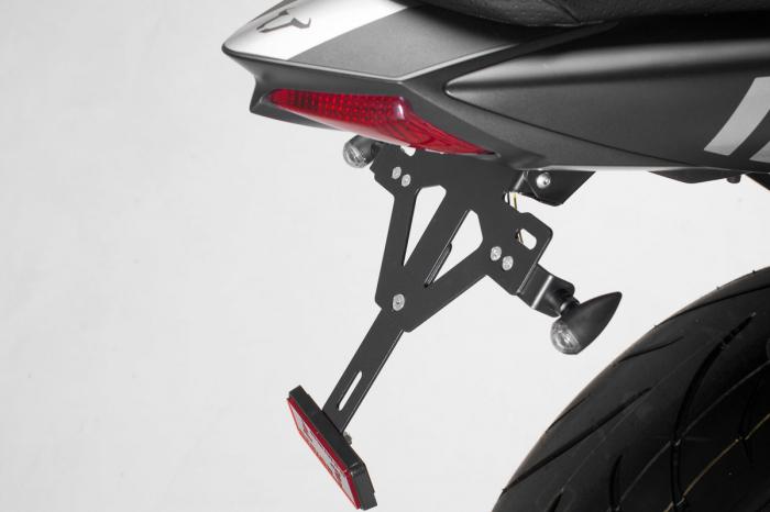 Placa pentru suport numar , negru, Suzuki SV650 ABS 2015- [0]