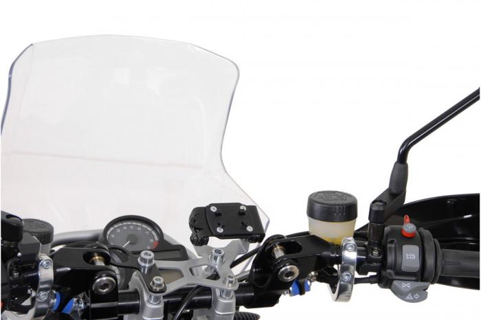 Placuta adaptor pentru GPS Richter system. Negru 1