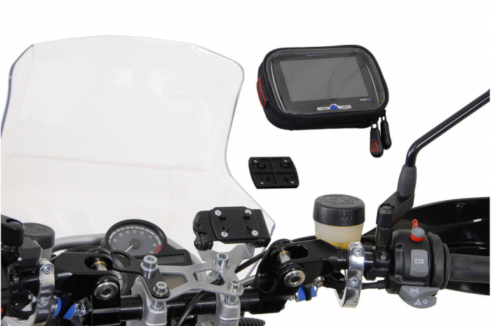Placuta adaptor pentru GPS Richter system. Negru 4