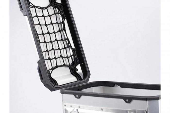 Plasa interior capac side case Trax Adv L Negru 0