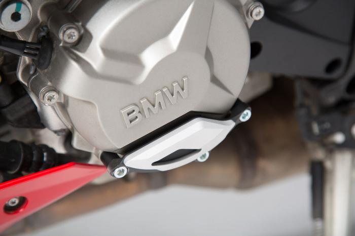 Protectie capac motor Negru/Argintiu. BMW S1000R / RR / XR. [0]
