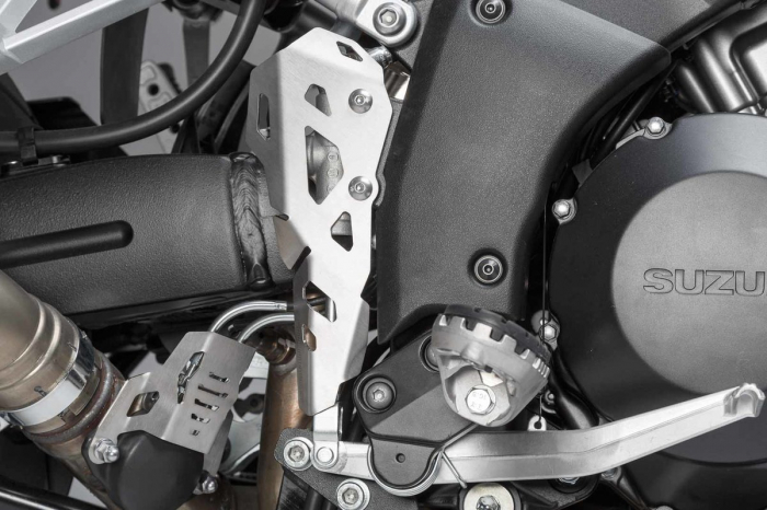 Protectie cilindru frana Argintiu Suzuki V-Strom 1000 (14-). 1