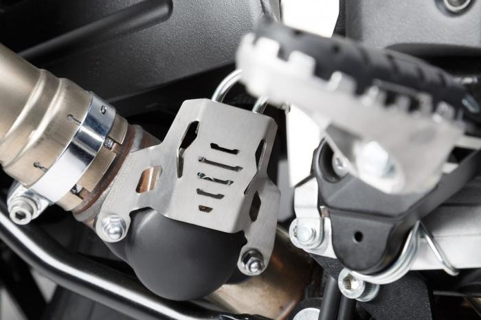 Protectie Exhaust valve Argintiu Suzuki V-Strom 1000 (14-). [0]