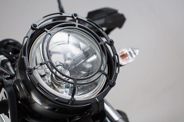 Protectie far Grila. negru Yamaha XSR 700 (16-). [0]